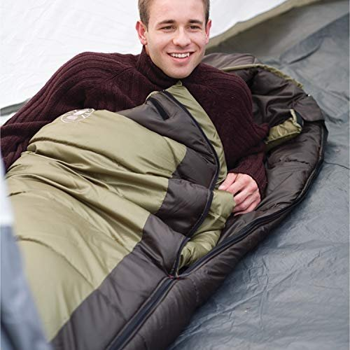 30% discount on a mummy sleeping bag with ventilation