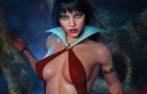 PULL LIST: RED SONJA, VAMPIRELLA, BATMAN/FORTNITE & MORE