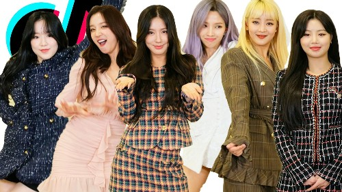 K-Pop Group (G)I-DLE Is Back for a TikTok Rematch!   TikTok Challenge Challenge   Cosmopolitan
