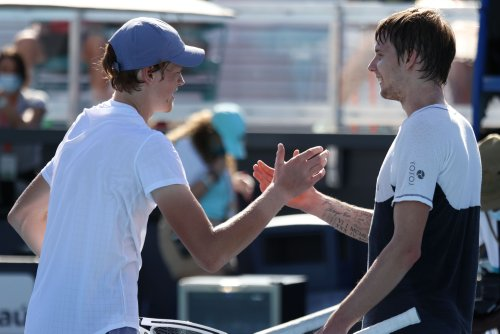 Tennis: Bublik convinced teenager Sinner not 'human'