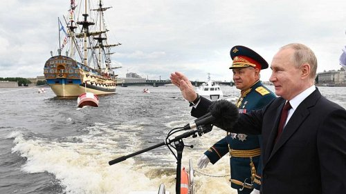 Russia displays its maritime might as the country celebrates Navy Day