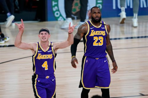 Alex Caruso was arrested for marijuana and LeBron James' response was epic