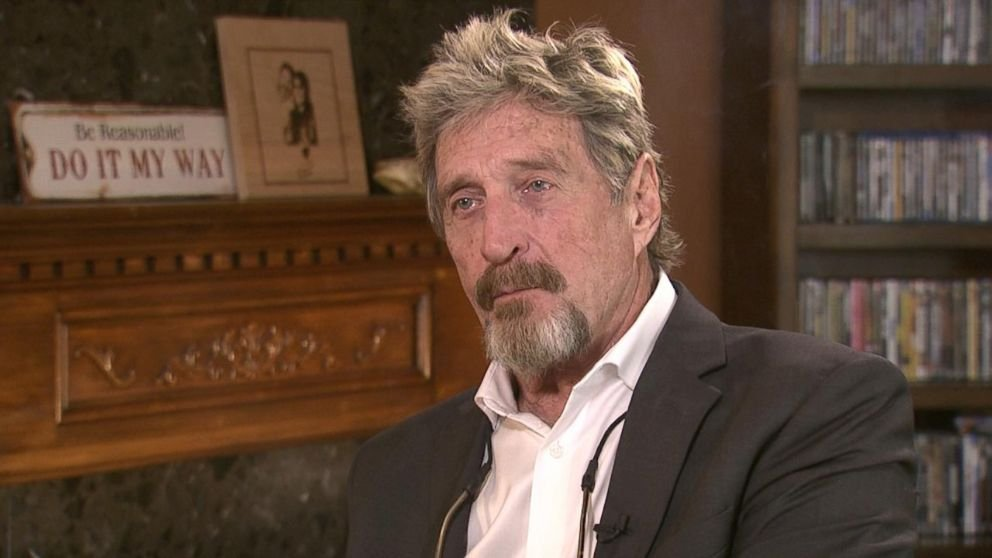 The Legal Problems of John McAfee
