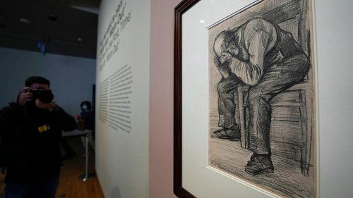 Vincent van Gogh: Newly discovered drawing by Dutch master goes on display