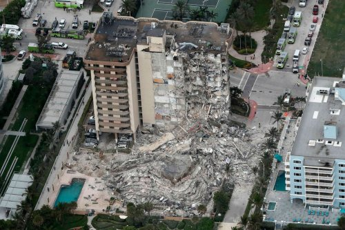 Search continues to find missing tenants of building collapse in Florida