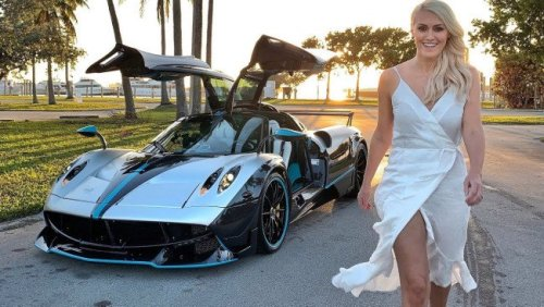 Supercar Blondie is the car world's richest influencer - check out her wild life