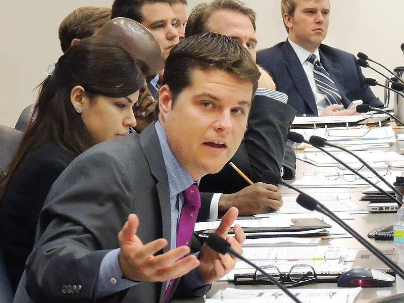 Listen: Gaetz Associate Pleads Guilty in Sex Trafficking Case. Is Gaetz Next?