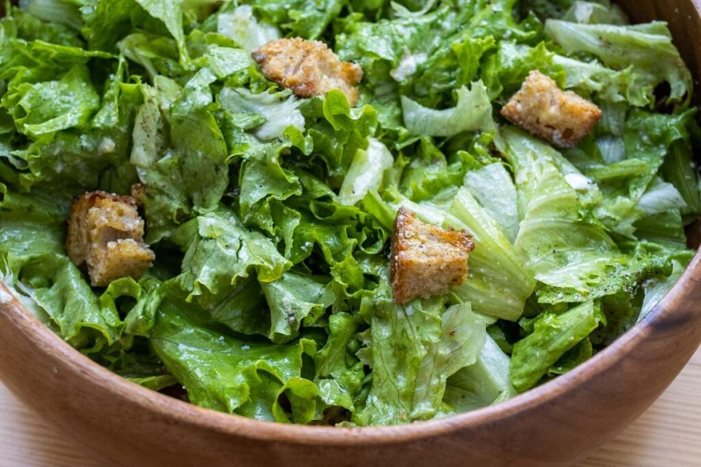 Make Restaurant Style Caesar Salad at Home