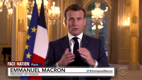 Macron hints at easing travel restrictions