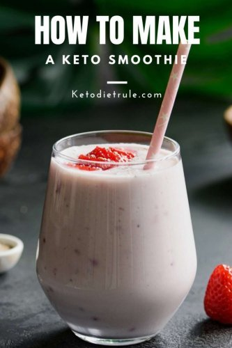 These Keto Smoothie Recipes Will Become Your Favorite Weight Loss Snacks