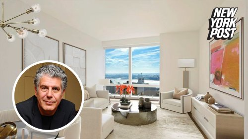 Anthony Bourdain's NYC apartment up for rent with $2,200 price cut