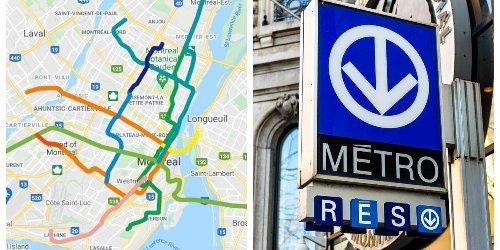 Cette carte te montre de quoi aura l'air le métro de Montréal dans le futur.