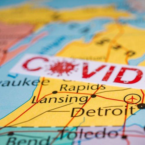 Listen: Michigan Becomes U.S. COVID Epicenter