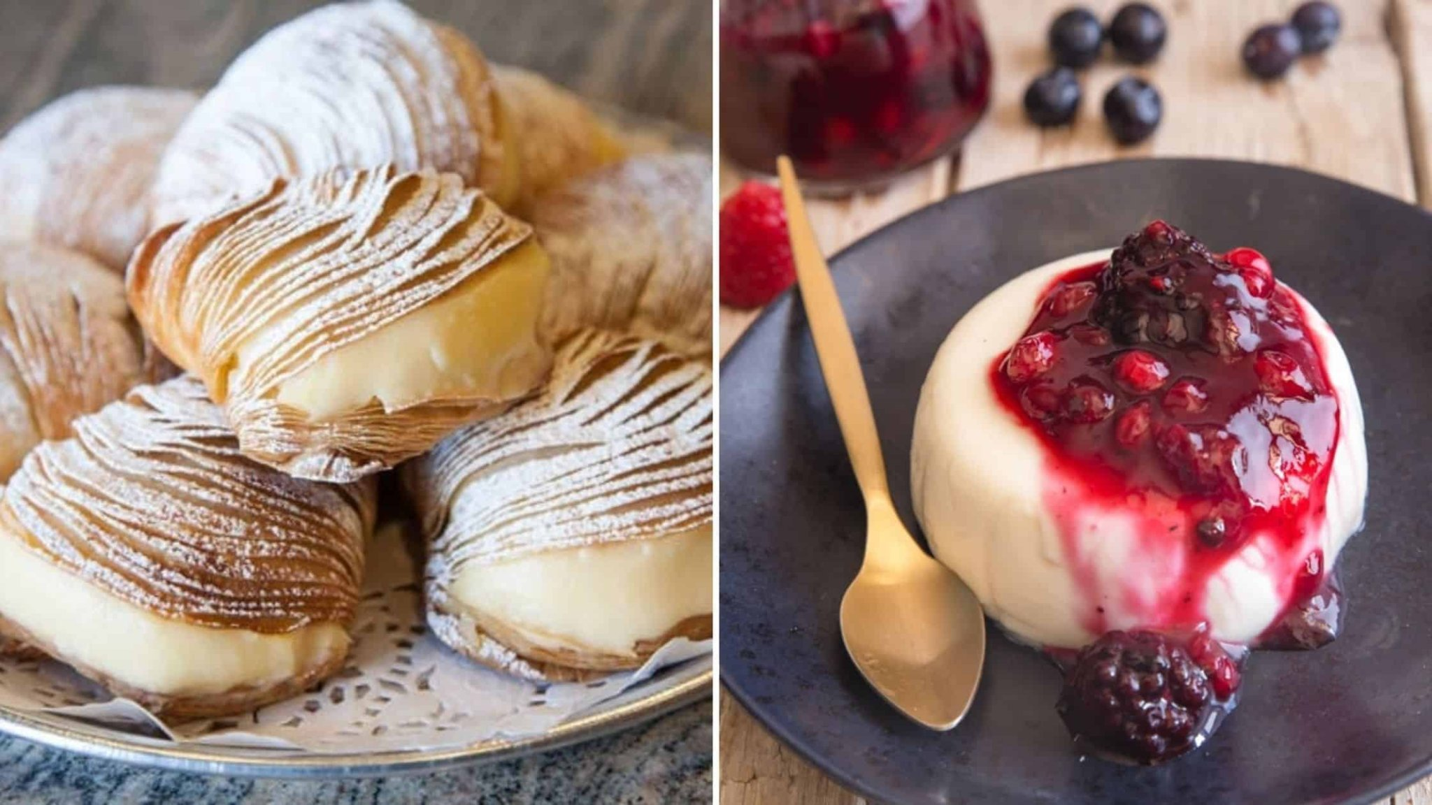 Desserts to go crazy over.