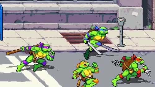 Teenage Mutant Ninja Turtles: Shredder's Revenge (Nintendo Switch Announcement Trailer)
