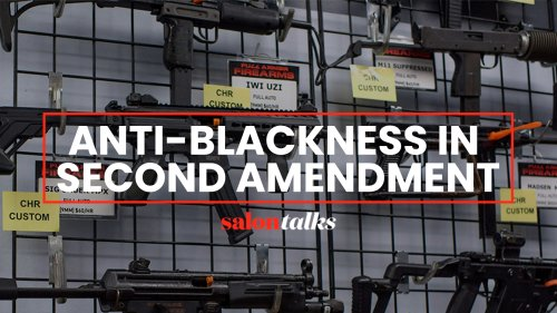 Carol Anderson discusses why the Second Amendment is not about guns