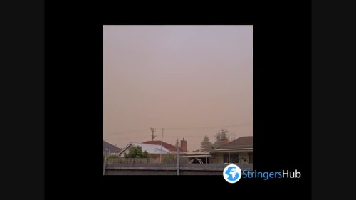 Australia: Northerly Winds Whip Up Dust Storms In South Australia