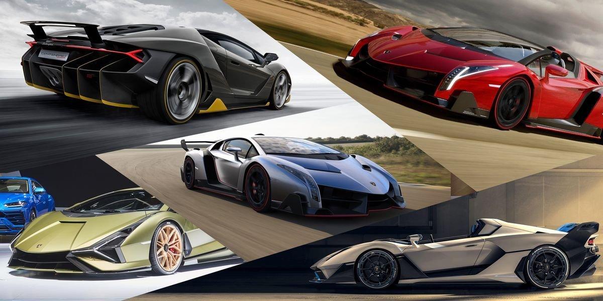 The coolest Lamborghini limited editions ever