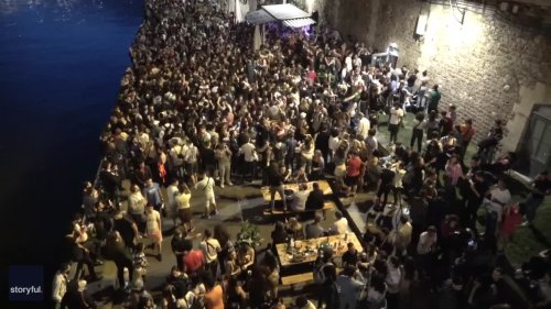 Parisians Party on Banks of Seine as France Lifts Curfew