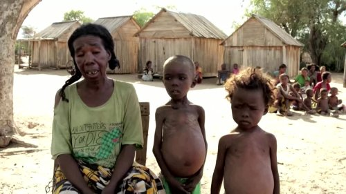 Madagascar people left starving after drought: WFP