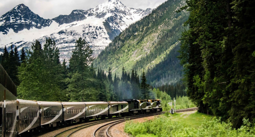 Climbing Aboard Canada's Rocky Mountaineer, One Of The Most Scenic Trains In The