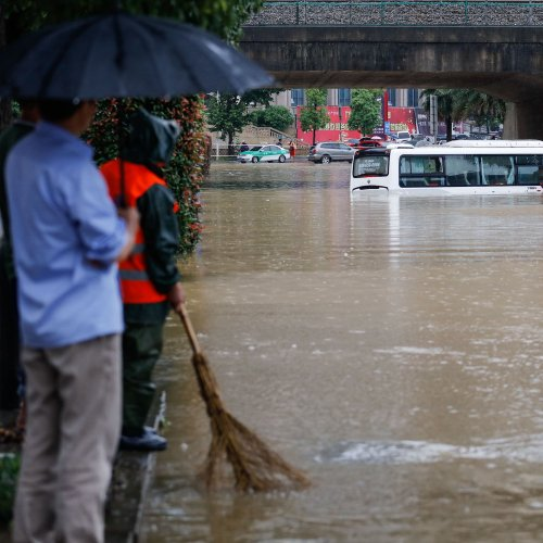 Listen: Record-Breaking Rains Cause Heavy Floods in China, 25 Dead