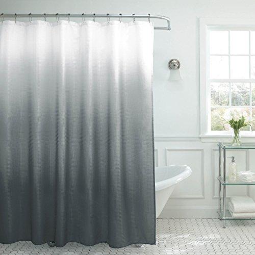 Ombre shower curtain set