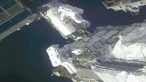 Astronauts Prepare International Space Station For New Solar Panels