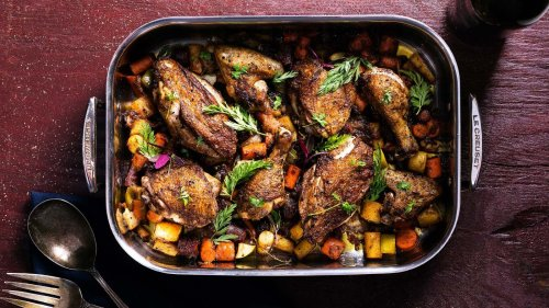 The Perfect One-Pan Roast Chicken and Vegetable Recipe