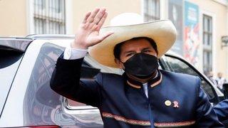 Peru's new president Pedro Castillo sworn in