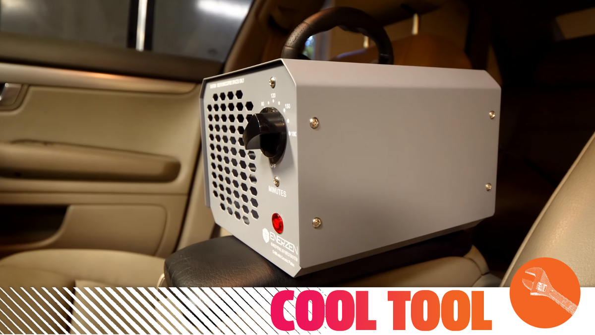 A Cheap Ozone Generator Might Help You Get That Foul Smell Out Of Your Car