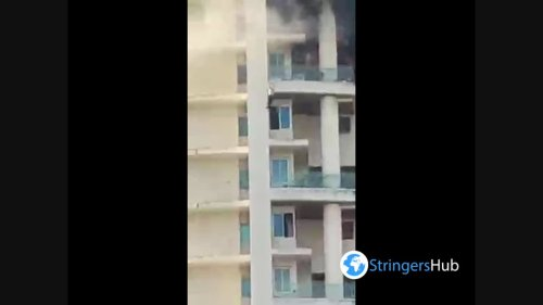 Man Dies After Falling From 19th Floor of Avighna Park Tower in Mumbai, India