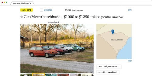 Battle of the Beaters: The Geo Metro Craigslist Cup