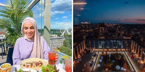 7 terrasses avec des vues complètement WOW à Montréal