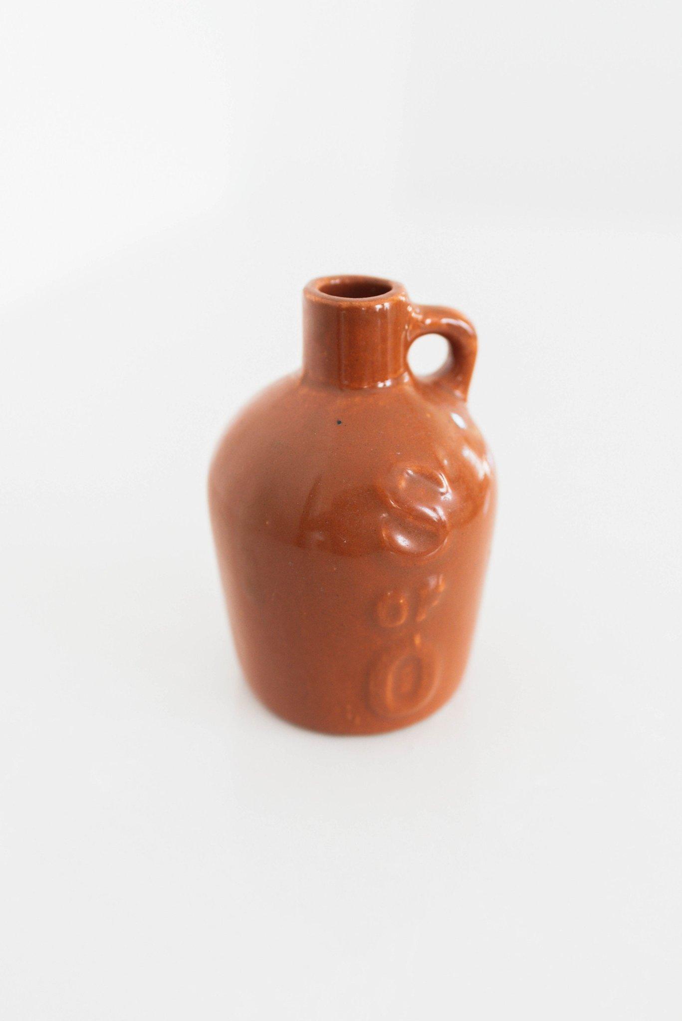 A mini ceramic jug