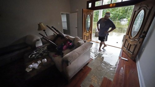 Central Gulf Coast Residents Drying Out After Tropical Storm Claudette