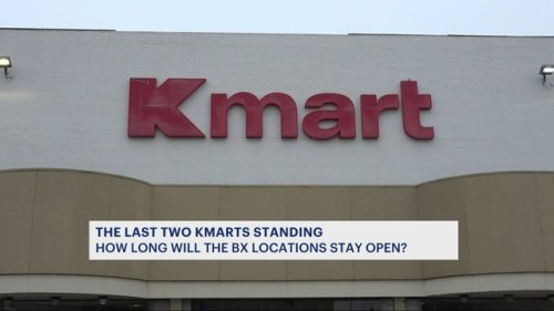 Last 2 Kmart stores in all of NYC located in the Bronx