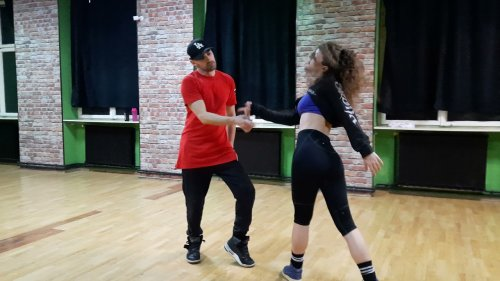 Dance Duo Perform Fascinating Choreography