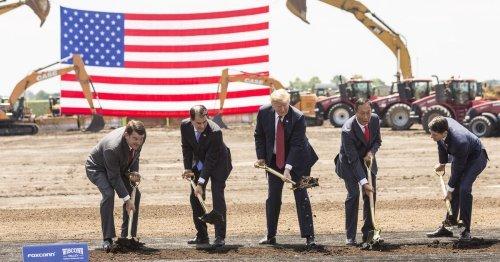 The $4.5 Billion Foxconn Factory Boondoggle