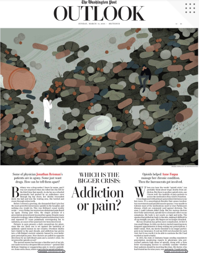 THE OTHER OPIOID CRISIS:  PAIN PATIENTS WHO CAN'T ACCESS THE MEDICATIONS WE NEED cover image
