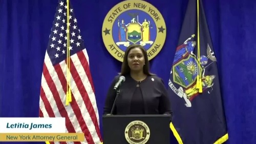 NY AG sues NYPD for excessive force at protests