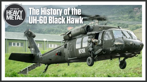 Heavy Metal: The History of the UH-60 Black Hawk