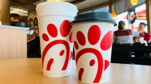 What It Really Means When You Get A Blank Cup At Chick-Fil-A