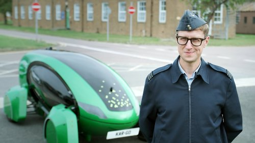 Royal Air Force trials use of self-driving cars to free up personnel from mundane tasks