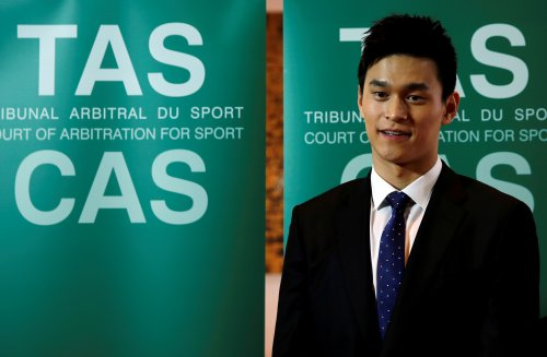 Swimming: Sun's second CAS hearing to take place in May