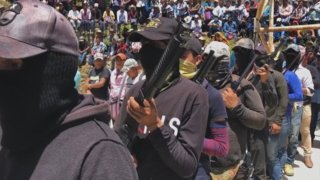 Vigilante group in Mexico steps in to protect communities
