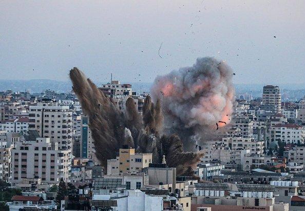 Le immagini della guerra a Gaza