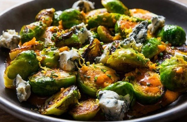 The Sauce That Makes These Crispy Brussel Sprouts So Good