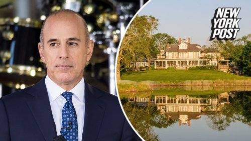 Disgraced Matt Lauer re-lists $44M Hamptons home after years without luck