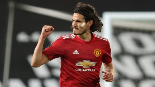Edinson Cavani is ripping it up at Man Utd
